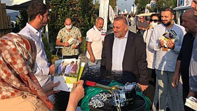 """""""DEVA Partisi Sakarya İl Başkanlığı tarafından yapılan saha ziyaretleri tüm hızıyla devam ediyor"""" DEVA Partisi'nden Fuar Ziyareti."""