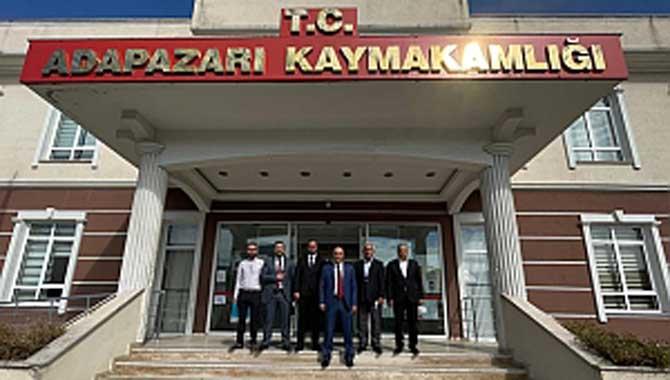 MHP'den yeni Kaymakam'a Ziyaret