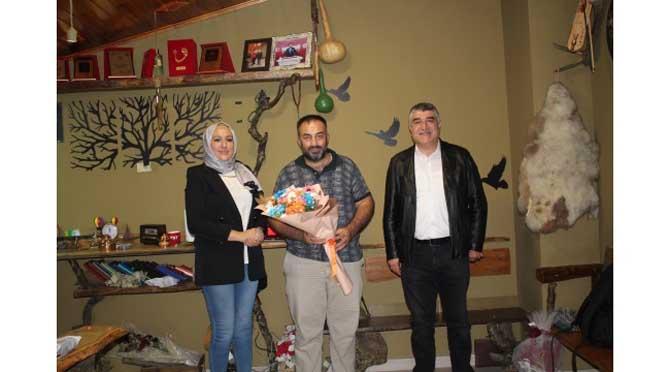Murat Polat ve Aslı Çam'dan LC Haber'e ziyaret