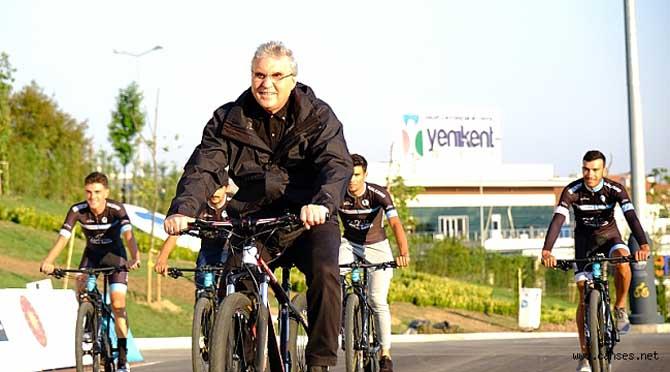 Bisiklet Şehri unvanını ülke tarihinde ilk kez Sakarya aldı