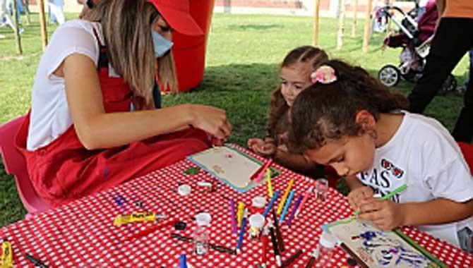 Serdivan Millet Bahçesi'nde Çocuk Sesleri