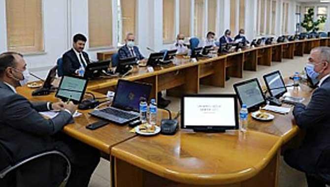 Vali Kaldırım Üniversitelerdeki Güvenlik Tedbirleri ve COVİD-19 Önlemlerine İlişkin Toplantılara Başkanlık Etti