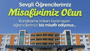 Valilik ve Sakarya Büyükşehir'den öğrencilere konaklama hizmeti