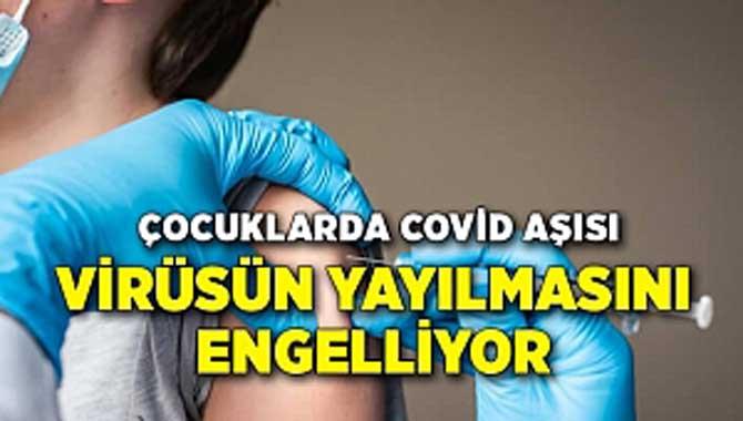 12 Yaş Üstü Çocuklarda Covid Aşısı Virüsün Yayılmasını Engelliyor
