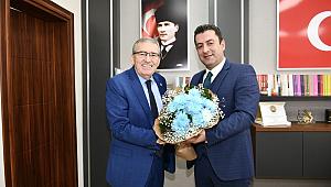 ASKF Başkanı Yaşar Zımba''dan, Yeni İl MEM, Hoşgeldiniz ziyareti.