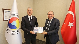 ASKF yönetimi, SATSO Başkanı Akgün Altuğ'u ziyaret etti.