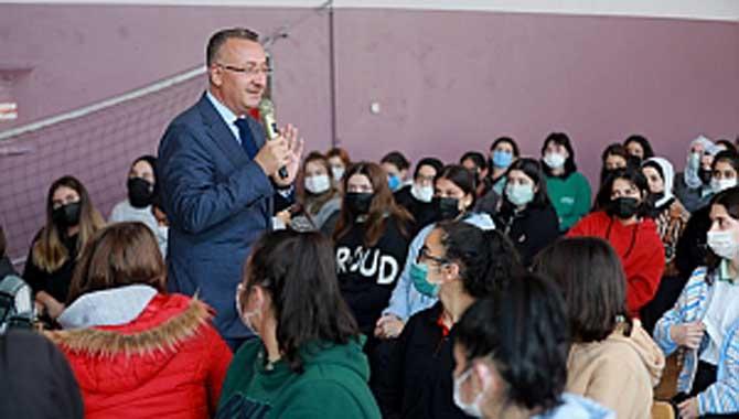 Başkan Işıksu'dan Okul Ziyaretleri
