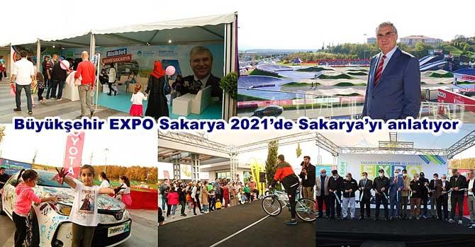 Büyükşehir EXPO Sakarya 2021'de Sakarya'yı anlatıyor