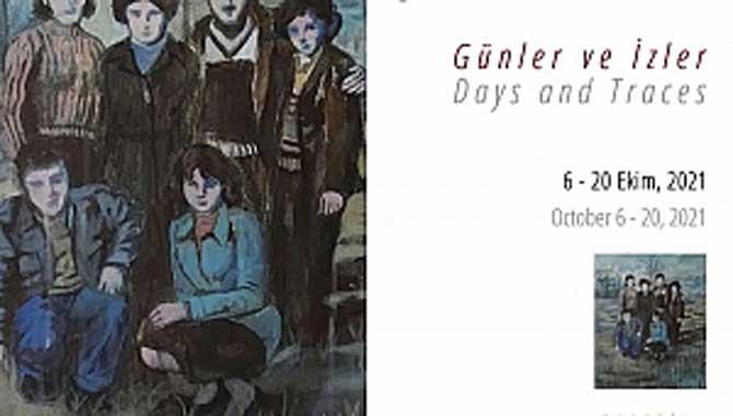 Dr. Öğr. Üyesi Şirin Yılmaz'ın Günler ve İzler Başlıklı Sergisi Galeri Soyut'ta