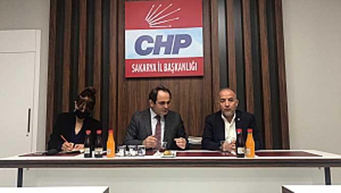 Gelecek Partisi Sakarya'dan CHP Sakarya İl Başkanlığına ziyaret