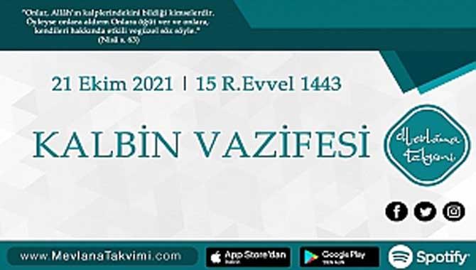 KALBİN VAZİFESİ