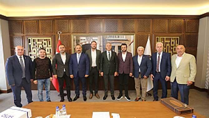 Kocaeli ve Sakarya inşaat sektörü işbirliği toplantısı SATSO'da gerçekleştirildi