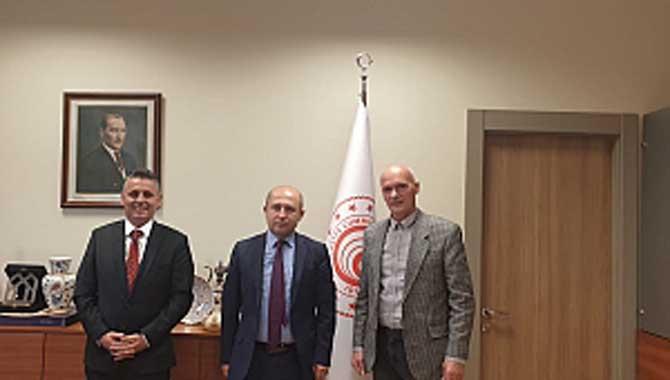Sakarya Ticaret Borsası Heyeti Ankara da bir dizi ziyaretlerde bulundu…