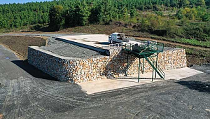 Sapanca'da Atık Transfer İstasyonu