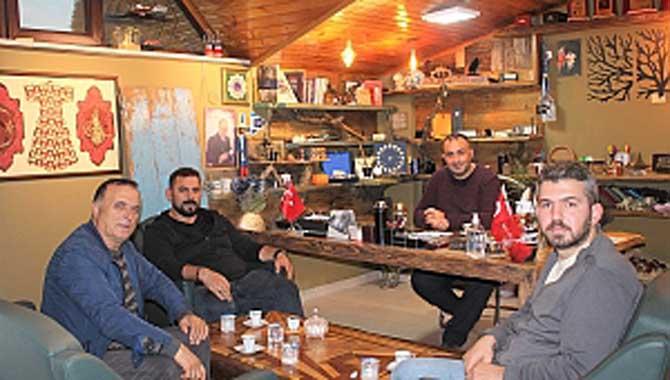 Taner Eyüpoğlu'ndan LC Haber'e ziyaret