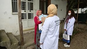 Yenidoğan Bebeklerin İlk Hediyesi Serdivan Belediyesi'nden