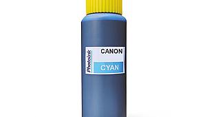5 yada 6 Kartuşlu Canon uyumlu 500 ml 526C Mavi Mürekkep