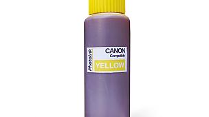 5 yada 6 Kartuşlu Canon uyumlu 500 ml 526Y Sarı Mürekkep