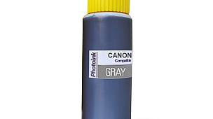 5 yada 6 Kartuşlu Canon uyumlu 500 ml Gri Mürekkep