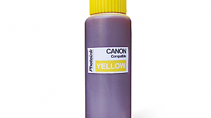 Canon Uyumlu 500ml Pigment Sarı Mürekkep (PHOTO INK Akıllı Mürekkep)