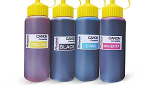 Canon Yazıcılar için uyumlu 4 Renk 500 ml Mürekkep SETİ