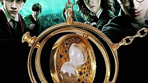 Harry Potter Time Turner Kum Saati Kolye