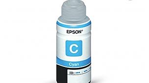 ORİJİNAL MAVİ Epson Epson L200/L220/L300/L210/ L355/L550/L1300/L382/L386/L565/L655/L605/L310 için T6642 70 ml Mürekkep