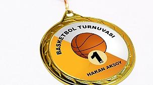 Kişiye Özel Altın Yaldız Madalyon
