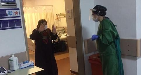 Sakarya'da Alkışlar Tedavi Olan Hastalar İçin