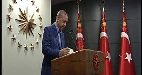 Cumhurbaşkanı Recep Tayyip Erdoğanın Referandum sonrası açıklaması