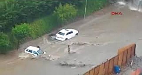 İstanbul'dan Sel ve Doğal Havuz Manzaraları