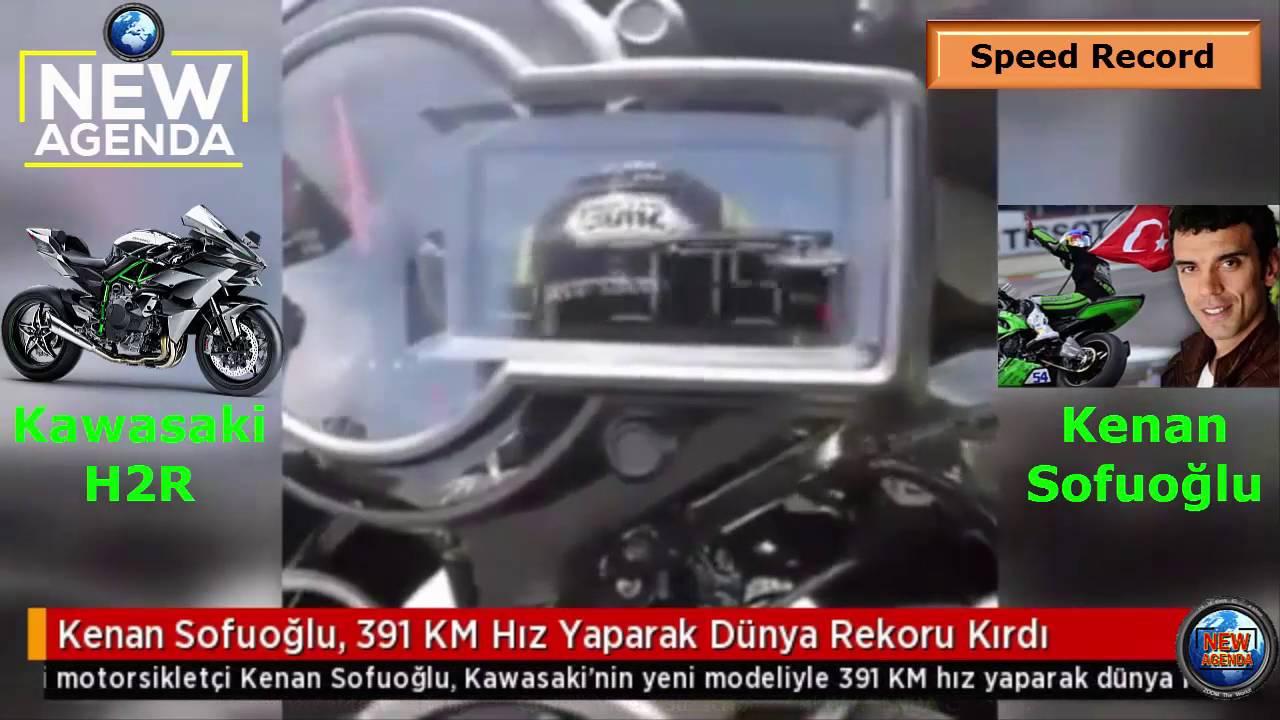 KAWASAKI H2R EN UST HIZ REKORU 0 400km H 26 Saniye