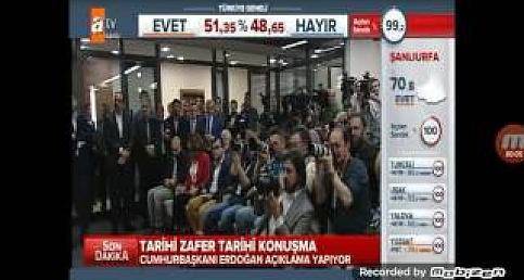 Recep Tayyip Erdoğan referandum konuşması 2017