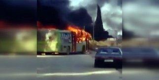 Halep'ten sivilleri almaya giden otobüslere saldırı